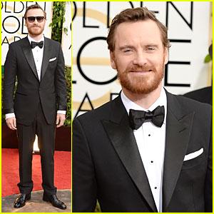Michael Fassbender - Golden Globes 2014 Red Carpet