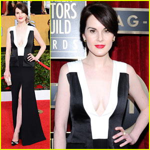Michelle Dockery - SAG Awards 2014 Red Carpet