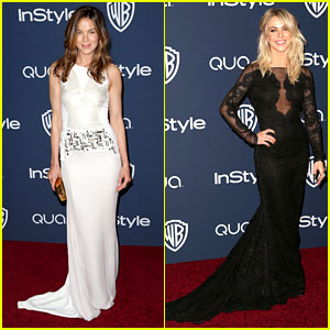 Michelle Monaghan & Julianne Hough - InStyle Golden Globes Party 2014