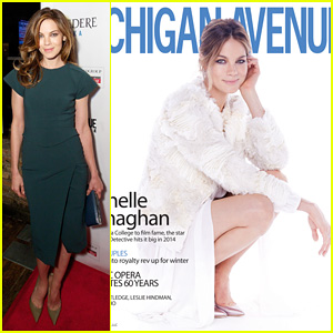 Michelle Monaghan: 'Michigan Avenue' Cover Celebration!