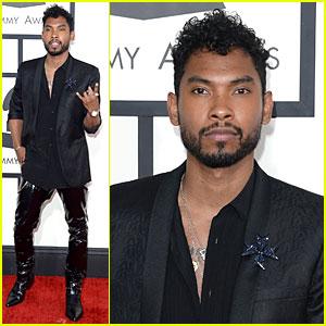 Miguel - Grammys 2014 Red Carpet