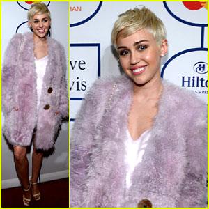 Miley Cyrus - Clive Davis' Pre-Grammy Gala 2014