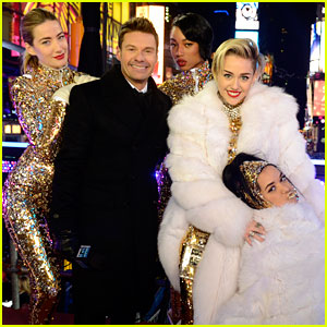 Miley Cyrus: New Year's Eve 2014 Performance - WATCH NOW!