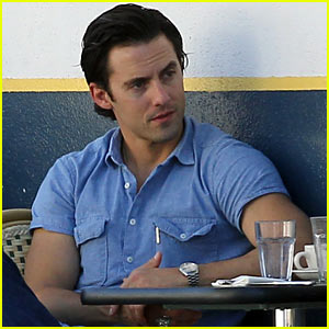 Milo Ventimiglia Bares Muscles for Los Angeles Lunch