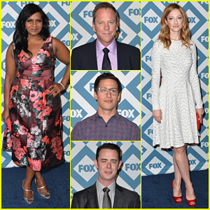 Mindy Kaling & Judy Greer: Fox All-Star Party 2014!