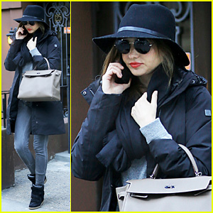 Miranda Kerr Steps Out After Flynn's 3rd Birthday
