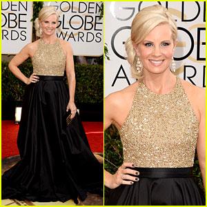 Monica Potter - Golden Globes 2014 Red Carpet