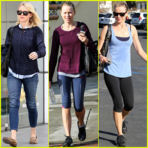 Naomi Watts Keeps Busy in Brentwood!