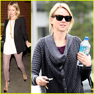 Naomi Watts Works Out After Her Fun Girls' Night Out