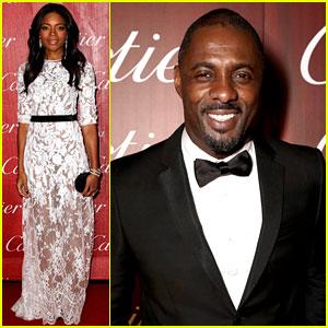 Naomie Harris & Idris Elba - Palm Springs Film Festival 2014