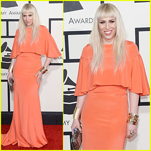 Natasha Bedingfield - Grammys 2014 Red Carpet