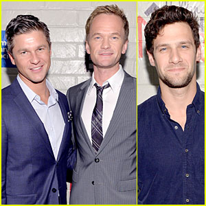 Neil Patrick Harris & Justin Bartha: Hollywood Stands Up to Cancer Event!