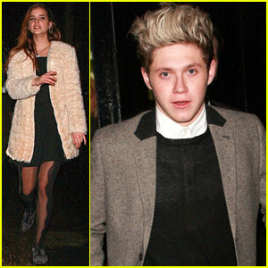 Niall Horan & Barbara Palvin Celebrate New Year's Eve Together!