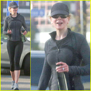 Nicole Kidman: I Run, Spin, & Play Tennis!