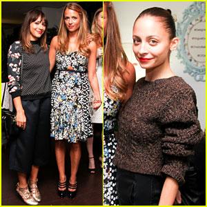 Nicole Richie & Rashida Jones: Charlotte Ronson's Vogue Eyewear Launch Party!