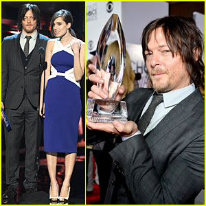 Norman Reedus - People's Choice Awards 2014 Presenter