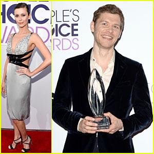 Olga Fonda & Joseph Morgan - People's Choice Awards 2014!