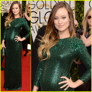 Olivia Wilde - Golden Globes 2014 Red Carpet