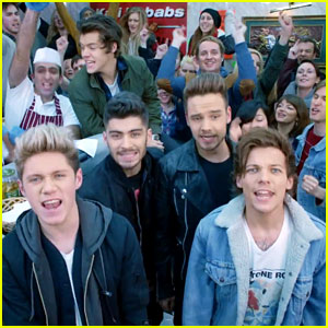 One Direction Have a Fun Night in 'Midnight Memories' Music Video - Watch Now!