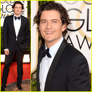 Orlando Bloom - Golden Globes 2014 Red Carpet