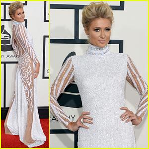Paris Hilton - Grammys 2014 Red Carpet