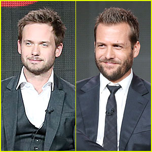 Patrick J. Adams & Gabriel Macht: 'Suits' TCA Panel!