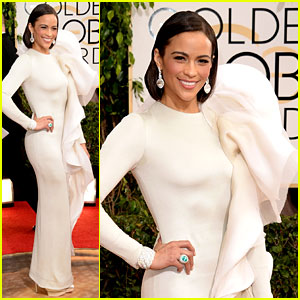 Paula Patton - Golden Globes 2014 Red Carpet
