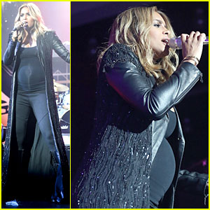 Pregnant Ciara Performs at Official Grammys 2014 After Party!