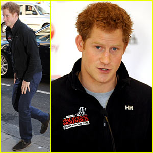 Prince Harry Debuts Freshly Shaved Face at South Pole Challenge Conference