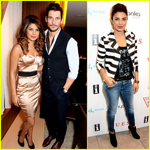Priyanka Chopra: Guess VIP Dinner with David Gandy!