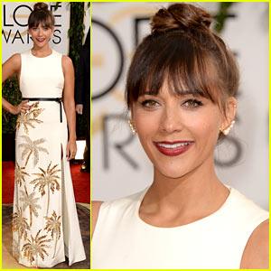 Rashida Jones - Golden Globes 2014 Red Carpet