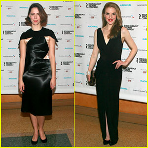 Rebecca Hall & Ashley Bell: 'Machinal' Broadway Opening Night!