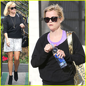 Reese Witherspoon: Pampering Session After Morning Workout!