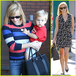Reese Witherspoon: Shopping Trips After Golden Globes!