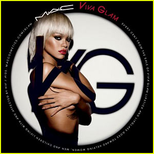 Rihanna: Topless for Mac Cosmetics Viva Glam Campaign!