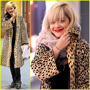 Rita Ora Lands in Vancouver for 'Fifty Shades of Grey' Filming!