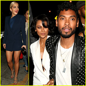 Rita Ora & Miguel: Jay Z's Grammys 2014 After Party!
