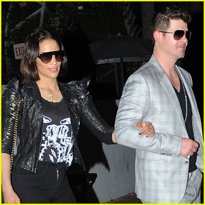 Robin Thicke & Paula Patton: From Miami to LAX!