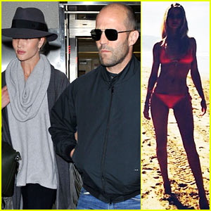 Rosie Huntington-Whiteley & Jason Statham: Back from Romantic Hawaii Vacation!