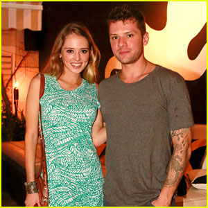 Ryan Phillippe & Paulina Slagter Dine at Seasalt & Pepper