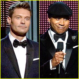 Ryan Seacrest & LL Cool J - Grammys 2014