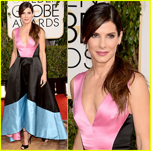 Sandra Bullock - Golden Globes 2014 Red Carpet