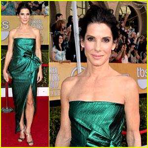 Sandra Bullock - SAG Awards 2014 Red Carpet