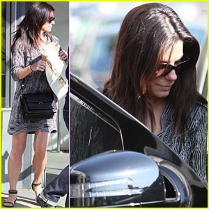 Sandra Bullock's Son Louis Got Her Through 'Gravity' Filming