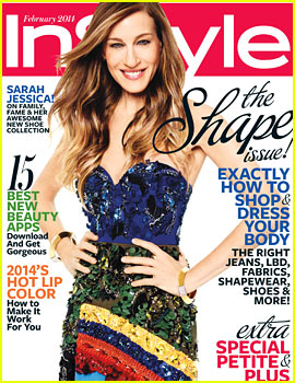 Sarah Jessica Parker Covers 'InStyle' February 2014