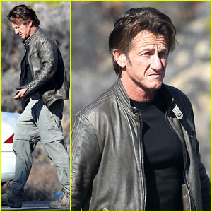 Sean Penn Steps Out After Hawaii Trip with Charlize Theron