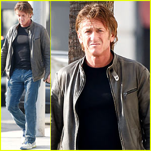 Sean Penn Steps Out Solo After Charlize Theron Relationship Confirmation
