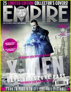 Shawn Ashmore Channels Iceman for 'Empire' Magazine Cover!