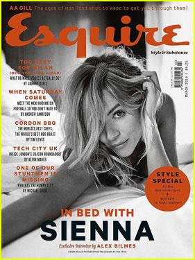 Sienna Miller Talks Jude Law Relationship in 'Esquire UK'!