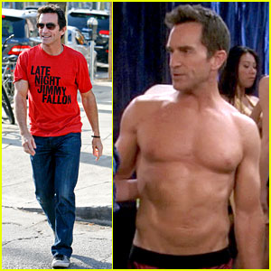 Survivor's Jeff Probst Shows Off Ripped Shirtless Body at 52!